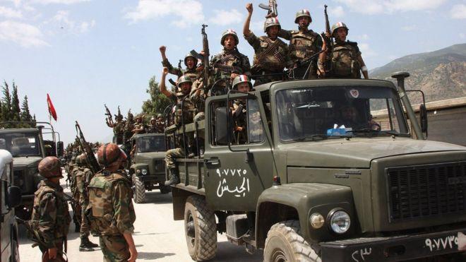 Forças oficiais de segurança sírias