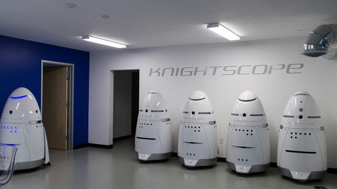 Knightscope security robots