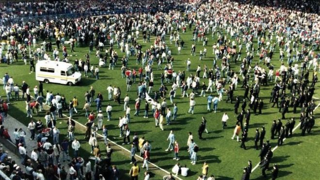 Image result for hillsborough disaster