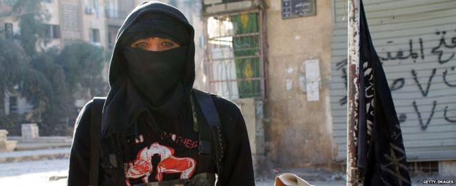 Nusra Front fighter