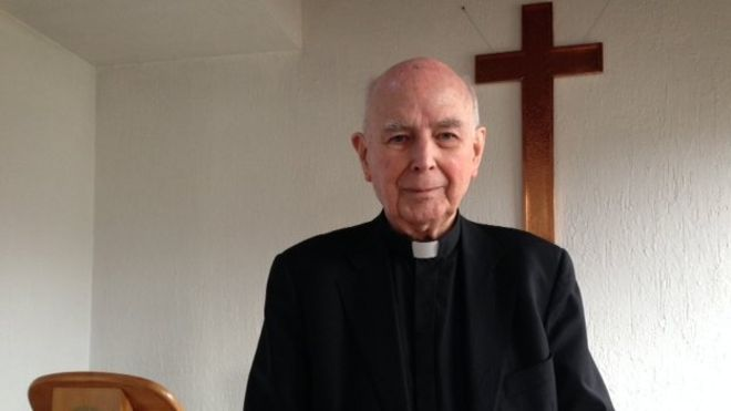 The former Catholic Bishop of Derry, Dr Edward Daly