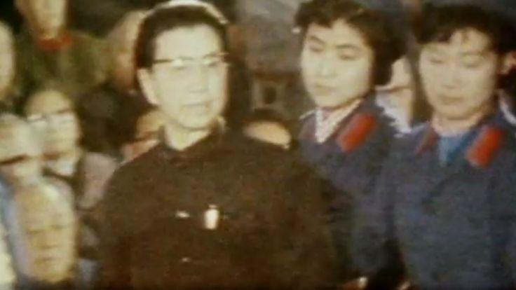 Bà Giang Thanh bị đem ra tòa xử sau khi ông Mao, chồng bà qua đời