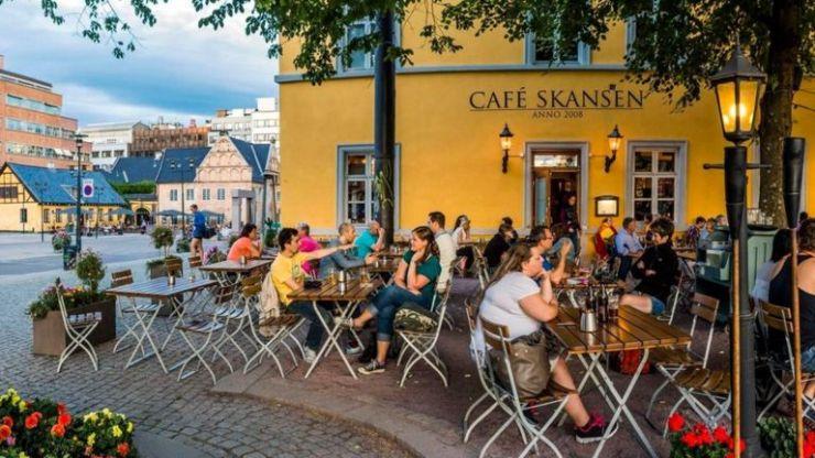 Un café en Oslo