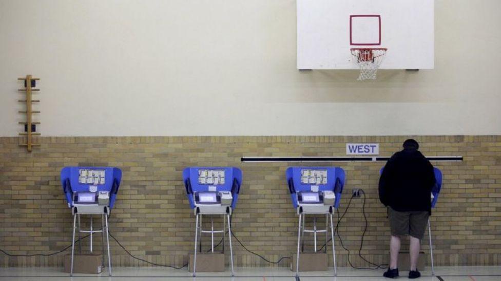 Votante en Estados Unidos