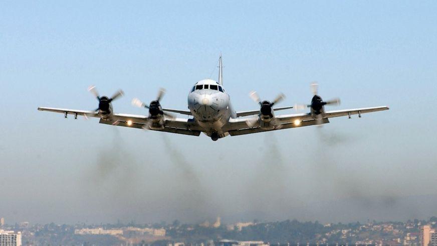 P-3C Orion patrol aircraft