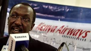 accidente de Kenya Airways en 2007