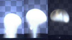 Relámpagos esféricos creados en laboratorio