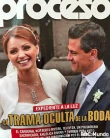 Portada de la revista mexicana Proceso