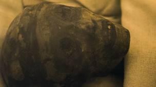 La momia del rey Tutankamón