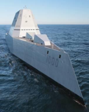 El diseño angular del barco es la clave para que sus grandes dimensiones no sean captadas por los radares.