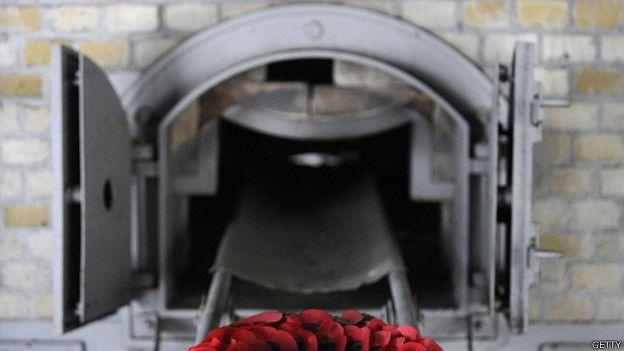 Crematorio en Ravensbrück