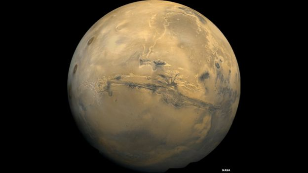 Gran Cañón de Marte