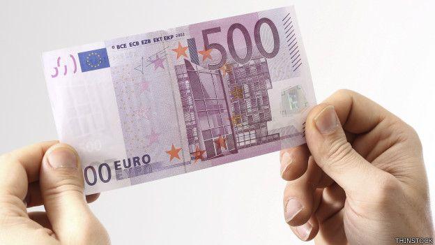 El mayor billete de la divisa de la Unión Europea supone un valor de US$ 542.