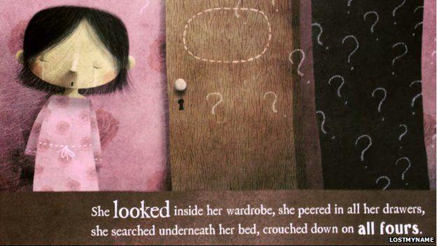 La pequeña que perdió su nombre