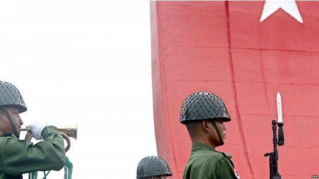 Lính gác Miến Điện