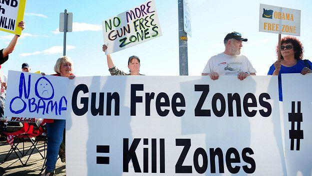 Protesta en Oregon