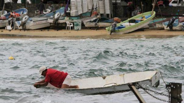 Preparándose para el huracán Patricia