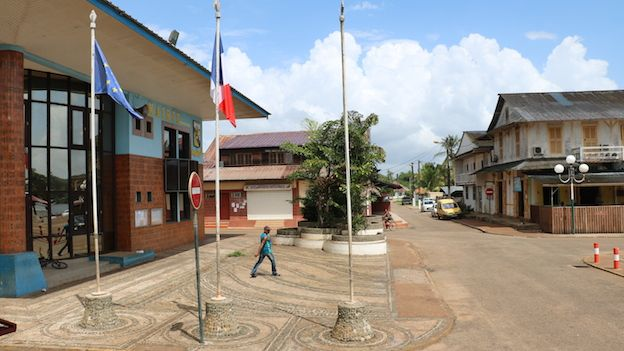 Alcaldía de Saint-georges, Guyana Francesa.