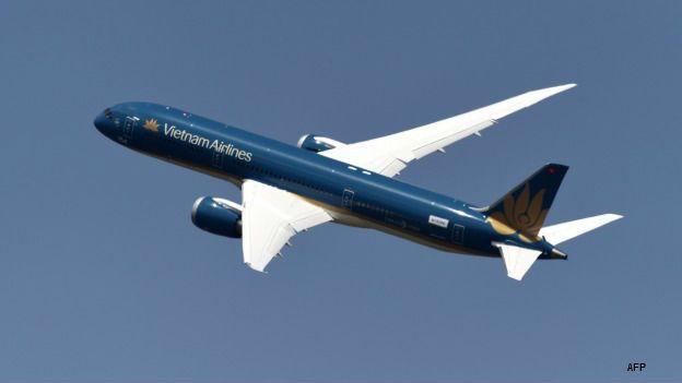 Boeing Dreamliner propiedad de aerolínea vietnamita