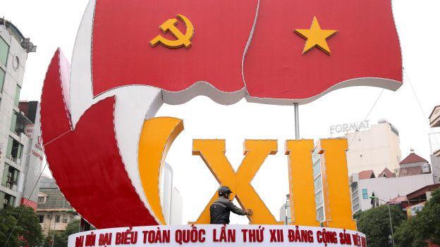 Preparativos para el Congreso del Partido Comunista de Vietnam.