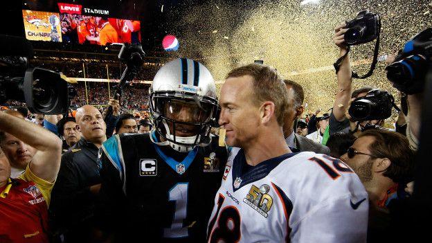 Cam Newton y Payton Manning
