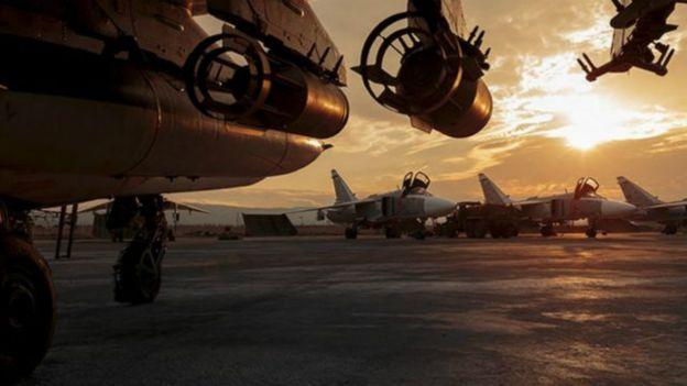 Un avión ruso