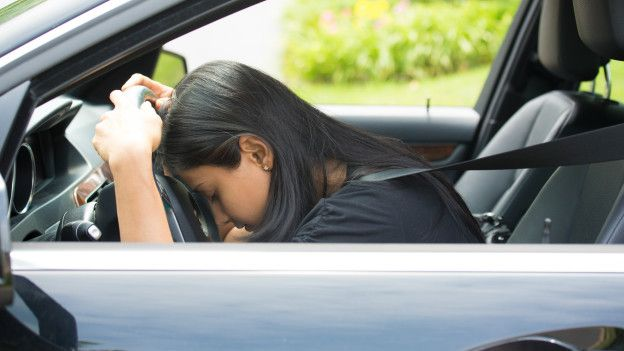 Uno de cada cinco accidentes de auto se producen por falta de sueño.