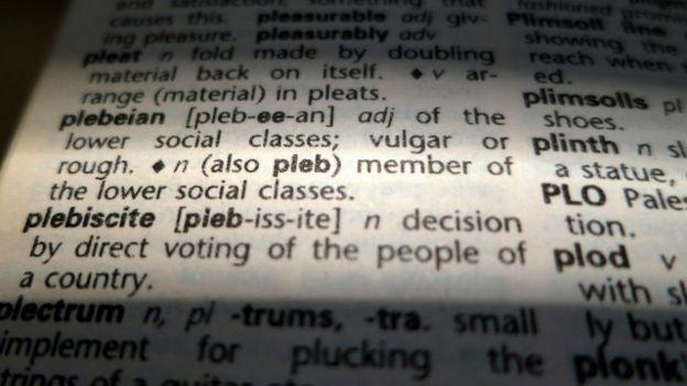 Imagen de un diccionario