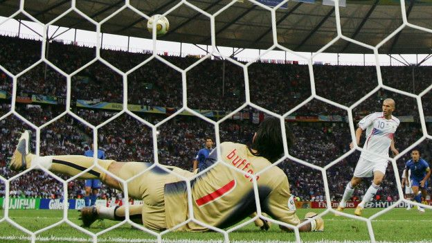 Penalty en la final de Alemania 2006