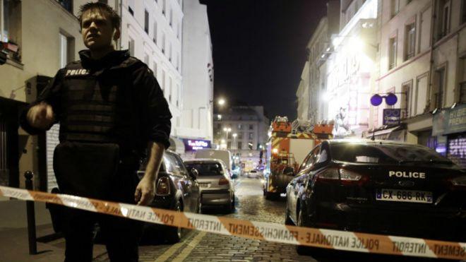 Ataques en París