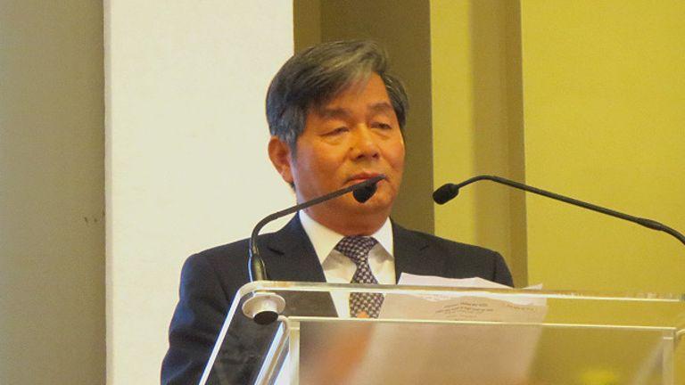 Bộ trưởng Bùi Quang Vinh phát biểu tại Diễn đàn Kinh tế Việt Nam Anh Quốc hôm 10/9 tại London