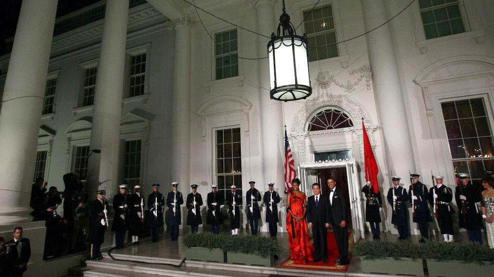 圖輯:牛仔帽、吉他與歷屆中國領導人訪美 - BBC 中文 ...