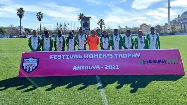 """""""Nigeria Super Falcons"""" flog Equatorial Guinea 9-0"""