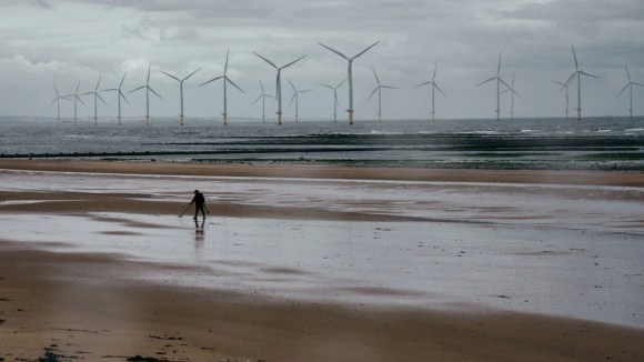 Wind farm in Redcar, Teesside