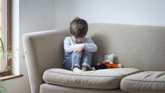 upset child