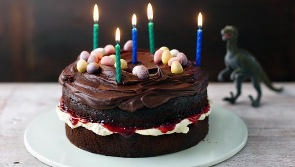 Bbc Food Recipes Easy Chocolate Birthday Cake