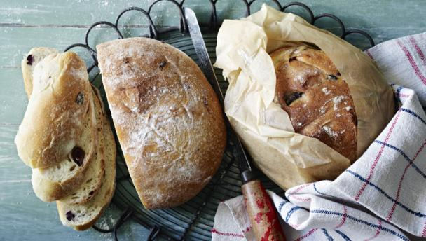 Image result for Sun-dried tomato and olive bread