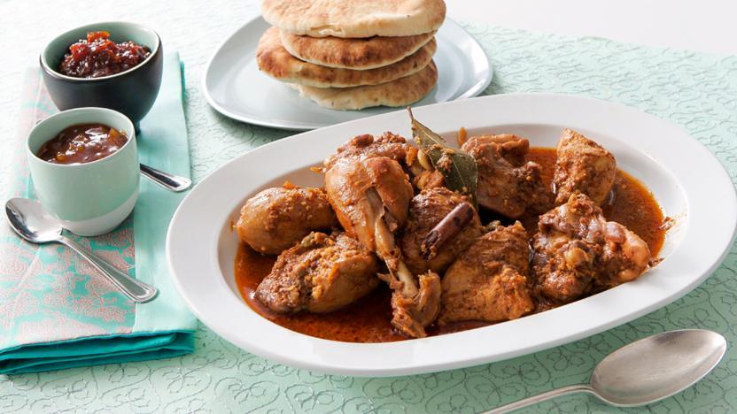 Madhur Jaffrey's chicken korma