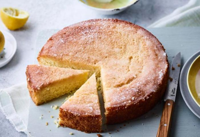 Vegan Lemon Drizzle Cake Recipe Bbc Food