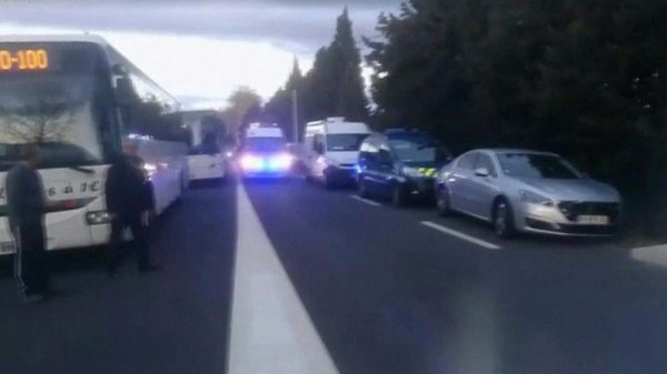 France Millas train crash: Children killed as bus cut in ...