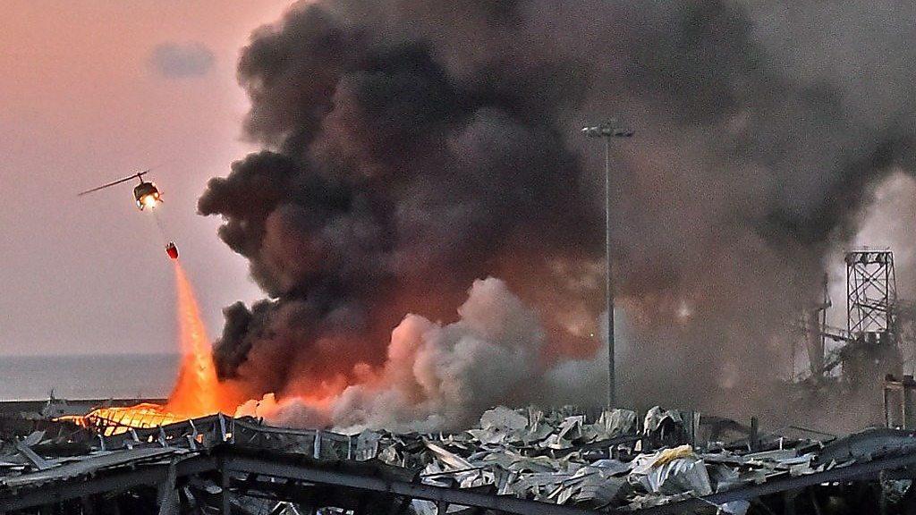 ガラスが粉々、床には血が流れ……」 レバノン・ベイルートの大規模爆発 - BBCニュース