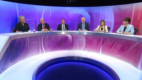 BBC One - Question Time, 21/04/2016