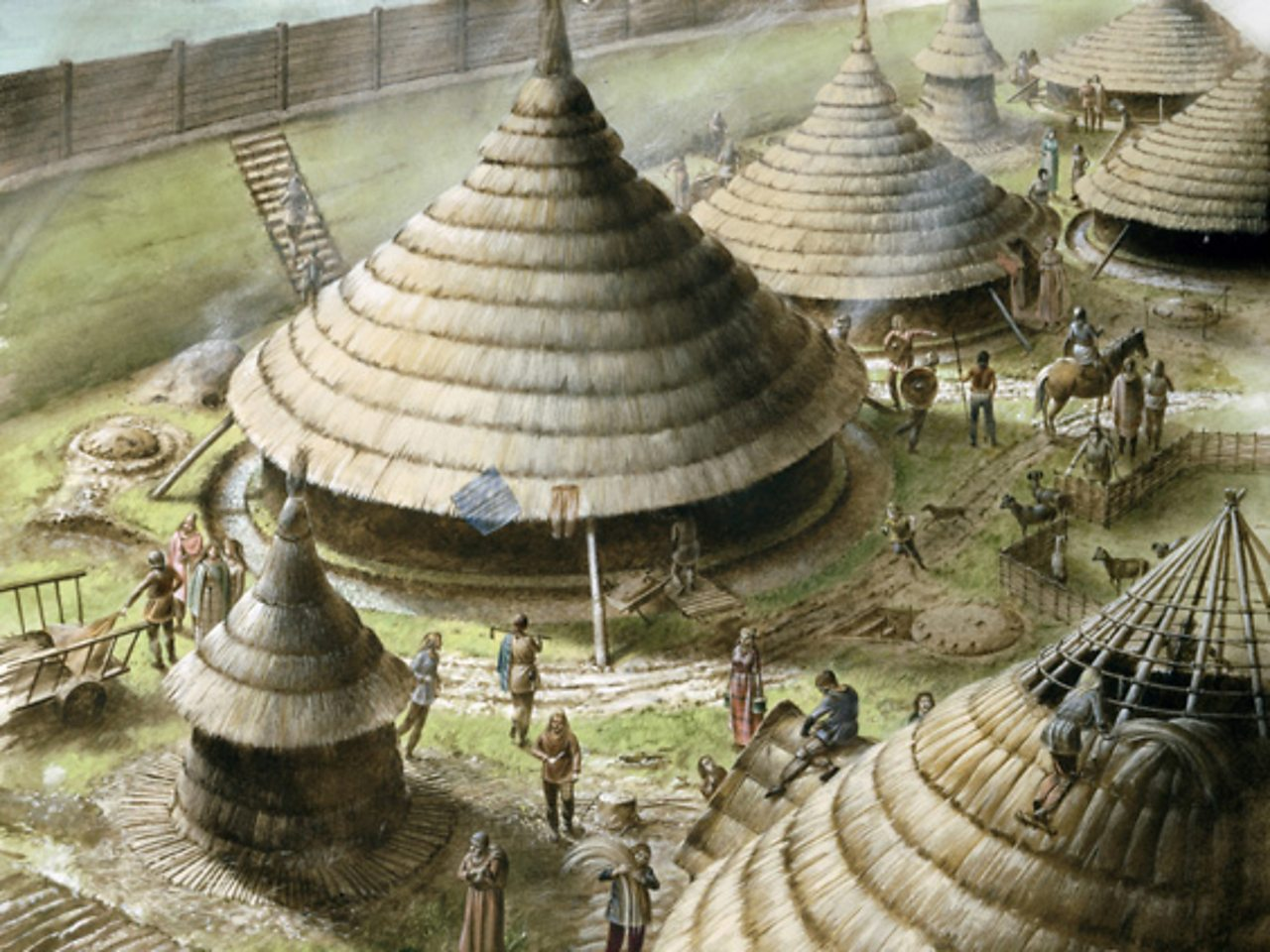 How Did Iron Age People Live