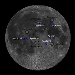 BBC Four The Sky at Night Find the Apollo landing sites