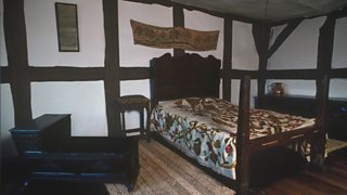 The room in which William Shakespeare was born