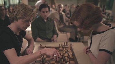 p092mhm4 क्वीन का गम्बित: 'कोई महिला शतरंज खिलाड़ी नहीं थीं'
