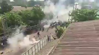 Myanmar: Brutal crackdown continues on protesters #world #BBC_News