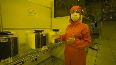 Microchip shortage: Inside a factory racing to meet demand #world #BBC_News