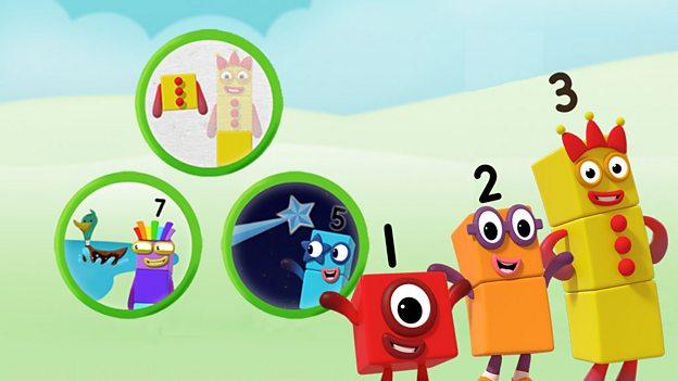 Kids Art Games Numberblocks Make Play Cbeebies Bbc