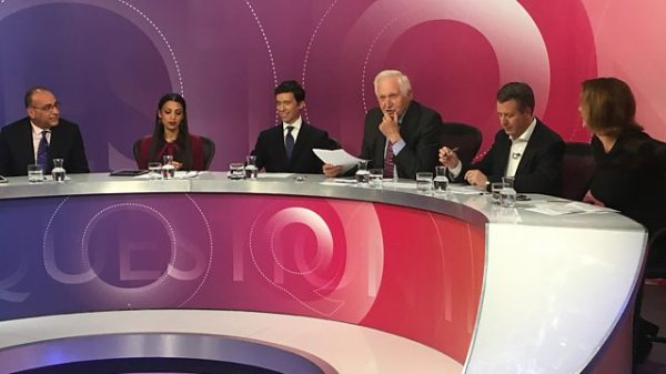 BBC One - Question Time, 2018, 13/09/2018